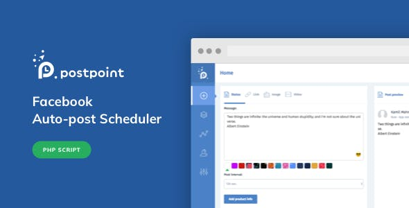 Facebook Auto Post & Scheduler - PostPoint Facebook