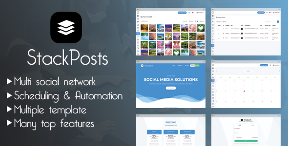 Stackposts - Social Marketing Tool Extended Version