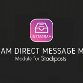 Instagram Direct Message Manager v.2.0.1 – Module for Stackposts