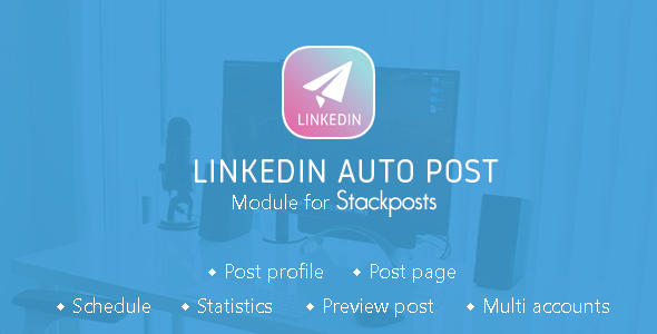 Linkedin Auto Post Module for Stackposts