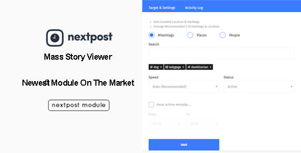Nextpost Module Mass Story Viewer
