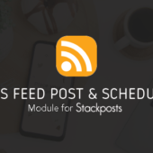Rss Feed Post & Schedule Module For Stackposts Version 1.0.1